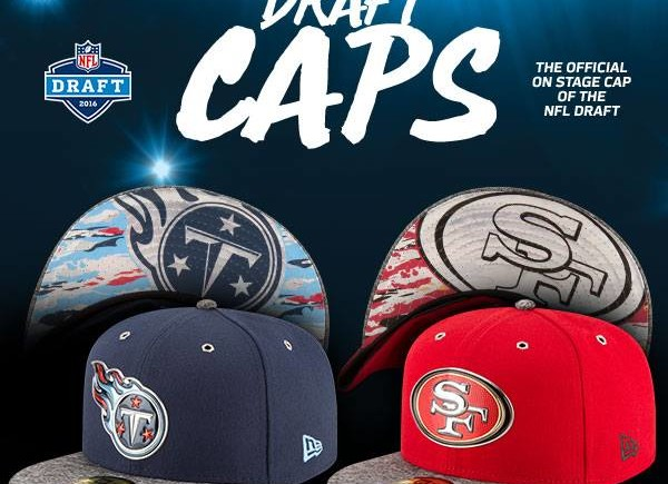 2016 nfl draft hats