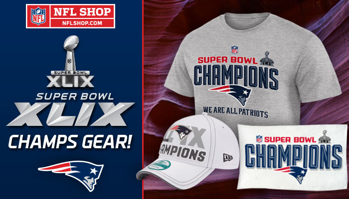 patriots super bowl champs gear